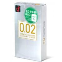 岡本 薄度均一 0.02EX (日本版) 6 片裝