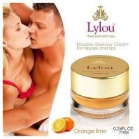 德國Lylou頂級滋潤調情乳霜 可粉嫩乳頭 粉嫩私處-橙青檸味