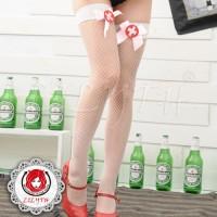 蝴蝶公主-超彈性感漁網及膝網襪