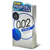 日本Jex。 iX 0.02 12 片裝
