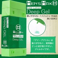 日本Mens Max.Fitty Lotion Deep Gel 凝膠式潤滑液 180ml