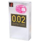 日本岡本 薄度均一 0.02EX (日本版) 12 片裝 PU 安全套