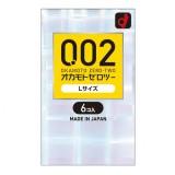 日本岡本 0.02EX 大碼58MM 安全套 6片裝
